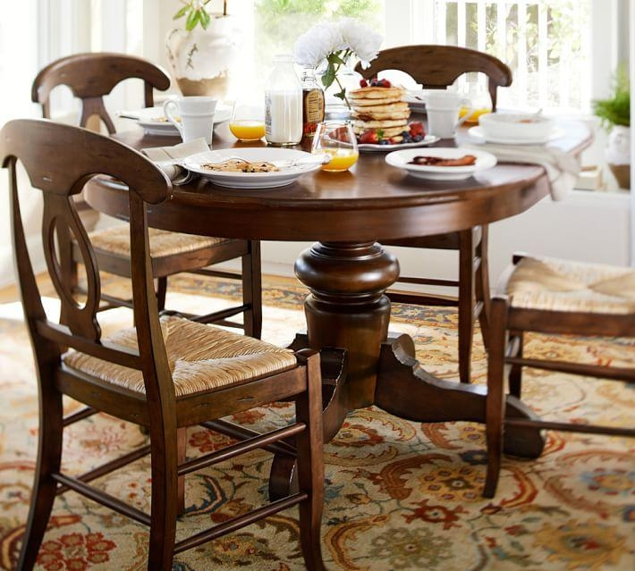Featured Image of Pedestal Dining Tables And Chairs