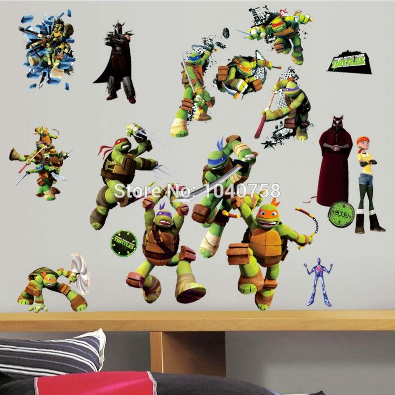 Tmnt Wall Art Reviews – Online Shopping Tmnt Wall Art Reviews On Pertaining To Tmnt Wall Art (Image 18 of 20)