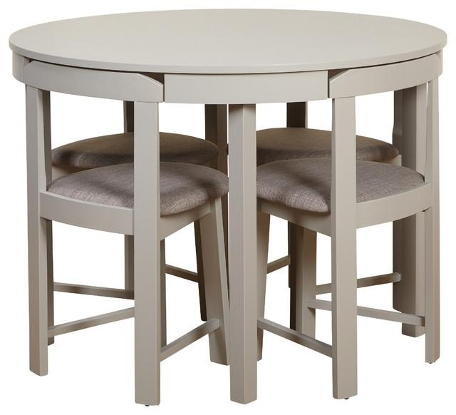 Tobey 5 Piece Dining Set – Transitional – Dining Sets  Tms With Regard To Compact Dining Sets (Image 19 of 20)