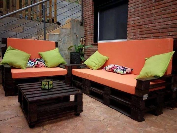 Top 104 Unique Diy Pallet Sofa Ideas Inside Pallet Sofas (Image 15 of 20)