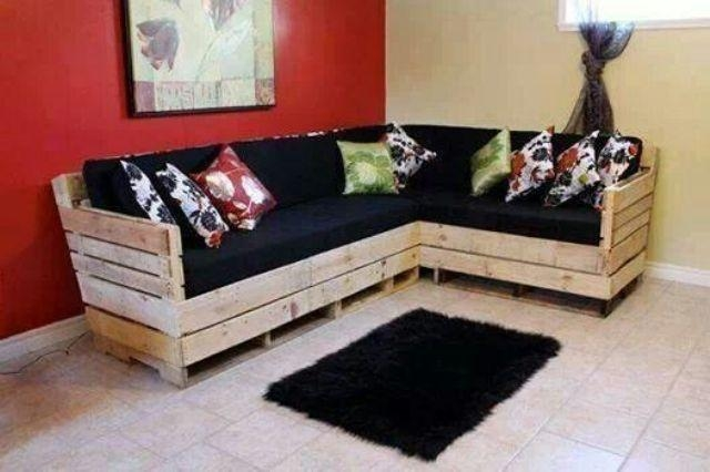 Top 30 Diy Pallet Sofa Ideas | 101 Pallets Throughout Pallet Sofas (Image 18 of 20)