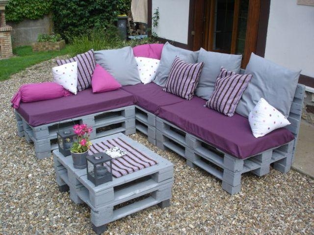 Top 30 Diy Pallet Sofa Ideas | 101 Pallets Within Pallet Sofas (Image 20 of 20)