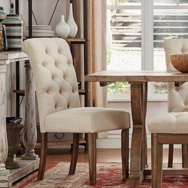 Top 5 Cheap Dining Room Chair Styles – Overstock Regarding Most Popular Cheap Dining Room Chairs (View 11 of 20)