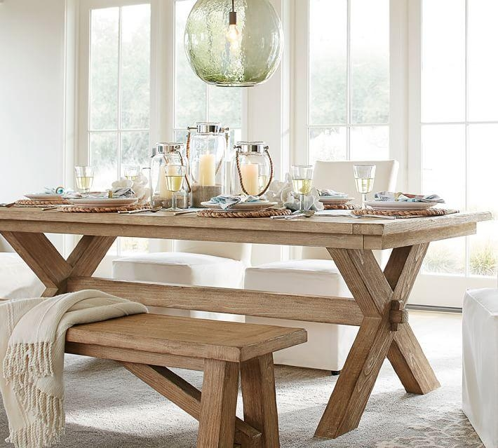 Toscana Extending Dining Table & Bench 3 Piece Dining Set Intended For Newest Extending Dining Sets (Image 20 of 20)