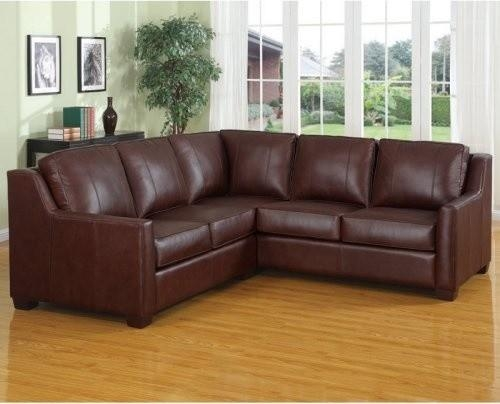 Traditional Leather Sectional Sofa And Ottoman 0 Image 1 Of 24 Throughout Traditional Leather Sectional Sofas (View 20 of 20)