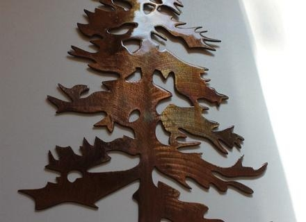 Tree Metal Wall Art – Blogstodiefor With Regard To Metal Pine Tree Wall Art (View 18 of 20)