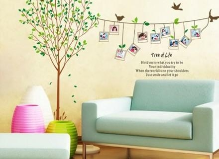 Tree Wall Art Decals Vinyl Sticker Home Design Ideas – Blog Stodiefor For Tree Of Life Wall Art Stickers (View 11 of 20)