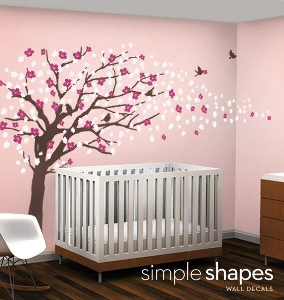 Featured Image of Cherry Blossom Vinyl Wall Art