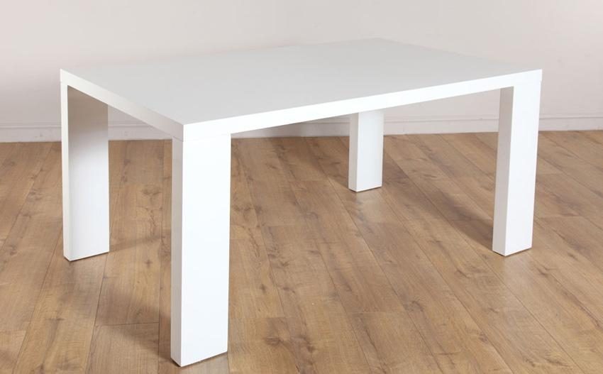 Trendy Design White High Gloss Dining Table | All Dining Room Regarding Best And Newest White Gloss Dining Tables 140Cm (View 4 of 20)