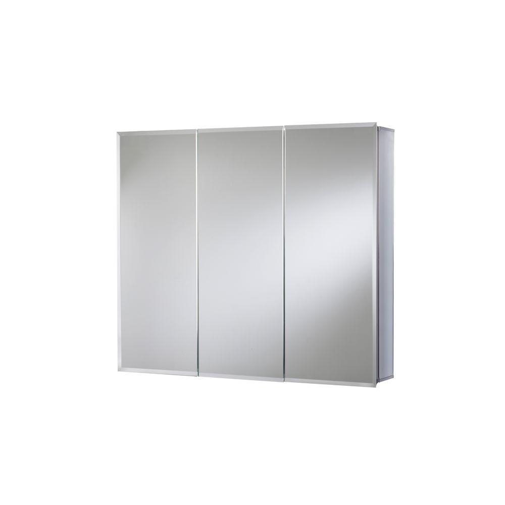 Tri View – Medicine Cabinets – Bathroom Cabinets & Storage – The For 3 Door Medicine Cabinets With Mirrors (Image 16 of 20)