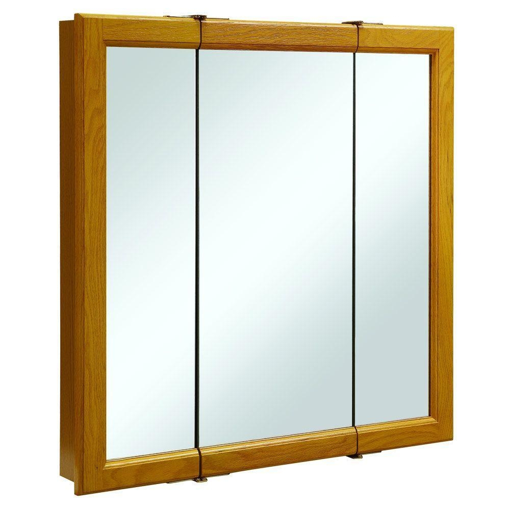 Featured Image of 3 Door Medicine Cabinets With Mirrors