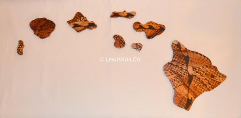 Tribal Hawaiian Islands Wall Art | Lewiskoa Co (View 2 of 20)