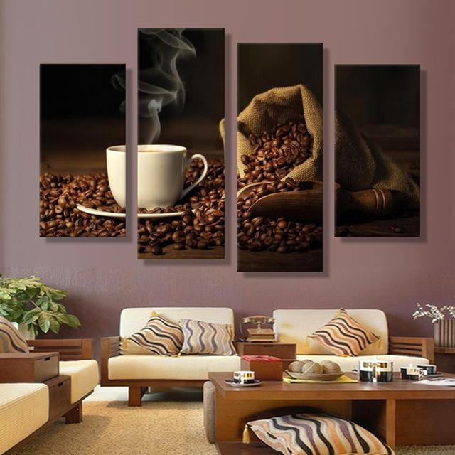 Turkish Coffee Art Deco Oil Canvas Painting Painting Of The Panels Within Turkish Wall Art (View 15 of 20)