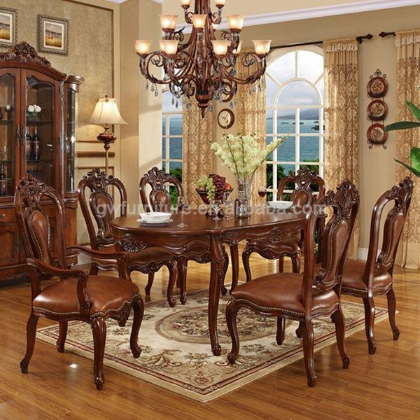 Turkish Dining Room Set, Turkish Dining Room Set Suppliers And Intended For 2017 Indian Dining Tables And Chairs (Image 19 of 20)