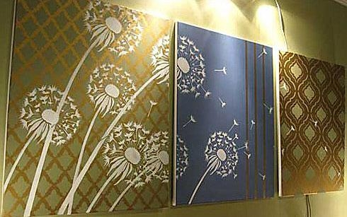 Turkish Tulip Craft Stencil – Craft Stencils For Furniture And Throughout Turkish Wall Art (View 14 of 20)