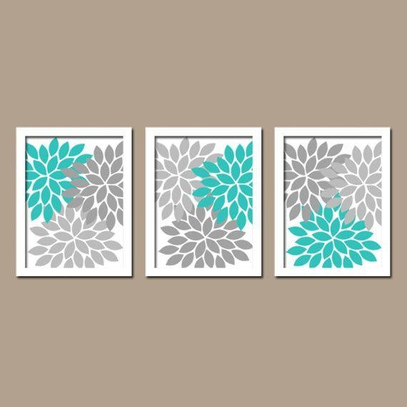Turquoise Wall Art – Wall Art Design Pertaining To Brown And Turquoise Wall Art (Image 17 of 20)