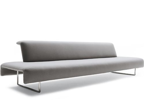Two Seat Cloud Sofa With Backrest – Hivemodern Intended For Floating Cloud Couches (Image 20 of 20)