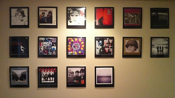 U2 Album Frames – A Look At My Wall Of Album Covers Pertaining To Album Cover Wall Art (Image 19 of 20)