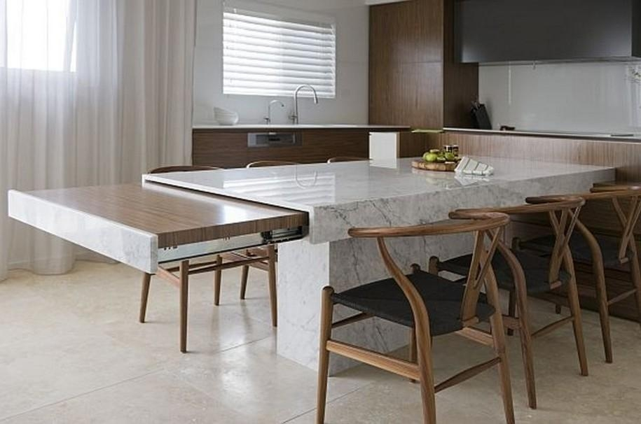 Unique Extending Marble Dining Table In Home Design Ideas With For Extending Marble Dining Tables (View 7 of 20)