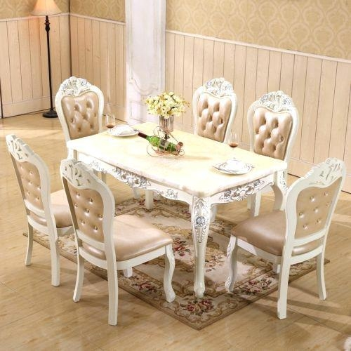 Used Dining Table And Chairs – Mitventures.co With 2018 Glasgow Dining Sets (Photo 18 of 20)