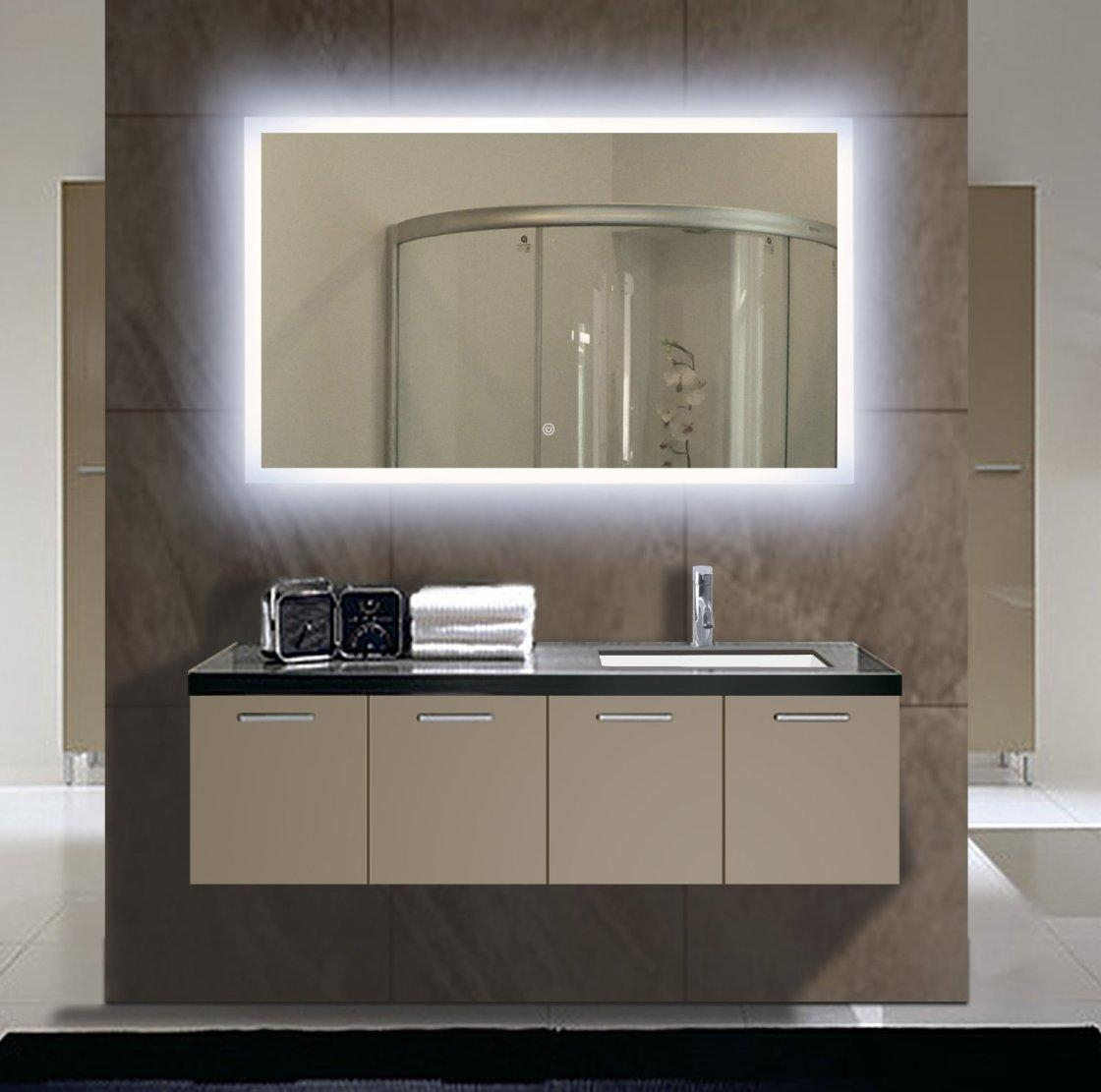 Vanity Wall Mirrors – Wall Shelves For Bathroom Wall Mirrors With Lights (Image 19 of 20)