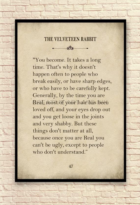 Velveteen Rabbit Wall Art Velveteen Rabbit Art Print Nursery Pertaining To Velveteen Rabbit Wall Art (View 2 of 20)