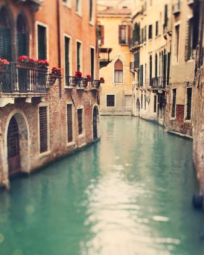 Venice Print Fine Art Prints Italy Travel Gift Canal In Within Italian Travel Wall Art (Image 19 of 20)
