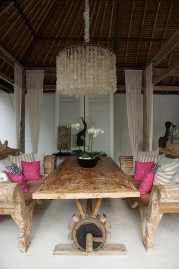 Villa Azaya Seminyak Bali Hotel And Bali Villa Interesting Inside Most Popular Balinese Dining Tables (Photo 10 of 20)