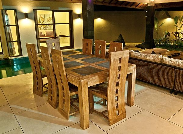 Villa Baik Baik Seminyak » Bali Hello Travel With Regard To Newest Balinese Dining Tables (Image 20 of 20)