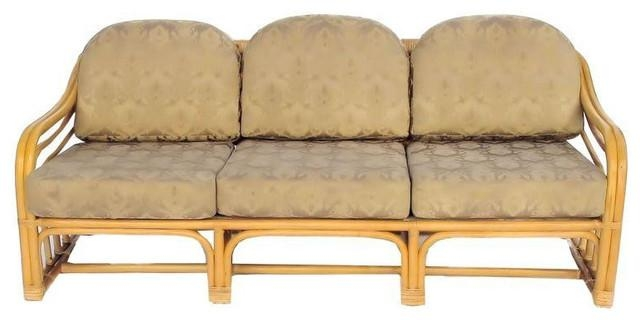Vintage 1960S Restored Bamboo Sofa – $1,200 Est (Image 19 of 20)