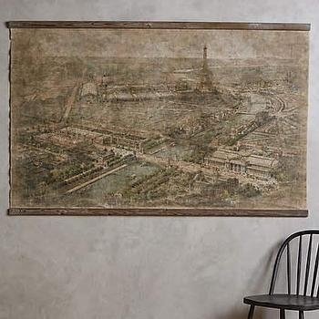 Vintage Paris City Map – Products, Bookmarks, Design, Inspiration In Map Of Paris Wall Art (Photo 13 of 20)