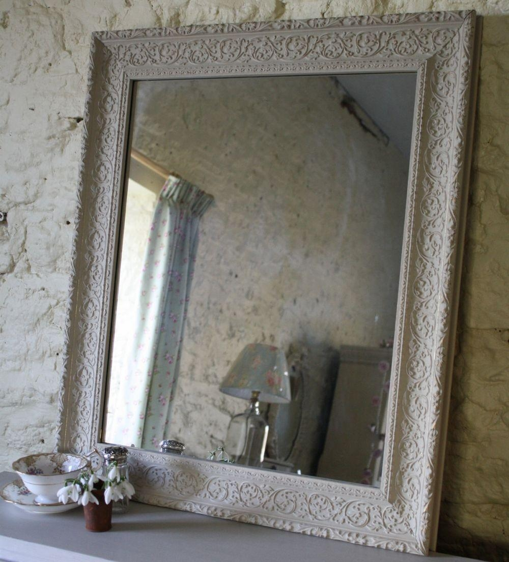 Vintage Wooden Distressed Mirror | Mirrors | Furniture With Vintage Wood Mirrors (View 13 of 20)