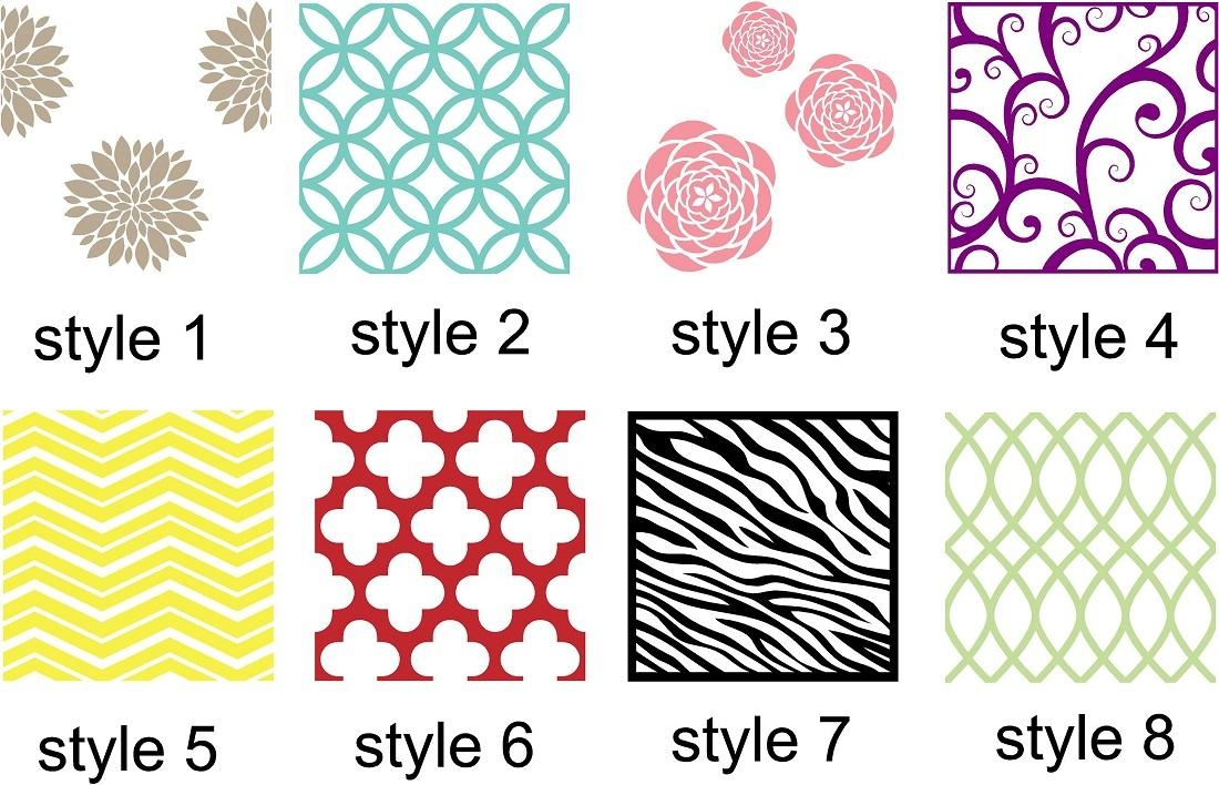 Vinyl Wall Art | Wall Accent Decals, Vinyl Wall Patterns With Pattern Wall Art (Photo 5 of 20)