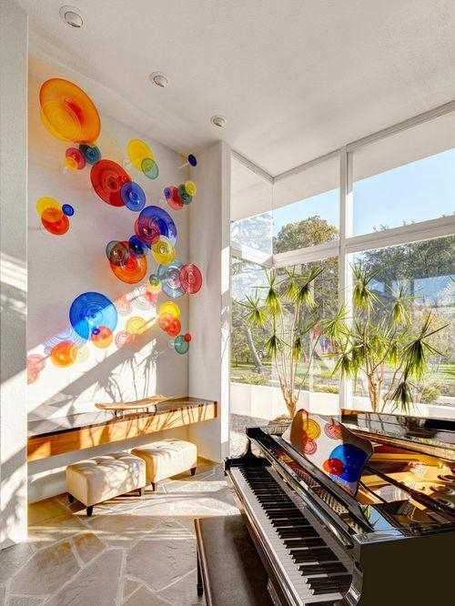 Viz Glass Wall Plates | Houzz For Viz Glass Wall Art (Image 10 of 20)