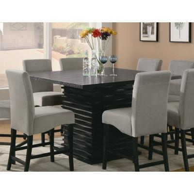 Wade Logan Bob Counter Height Dining Table & Reviews | Wayfair Intended For Most Current Logan Dining Tables (Image 19 of 20)