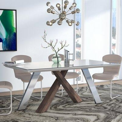Wade Logan Link Dining Table & Reviews | Wayfair Pertaining To Newest Logan Dining Tables (Image 20 of 20)