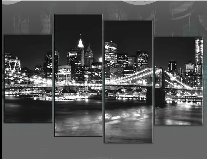 Wall Art: Awesome New York Canvas Art New York Skyline Canvas Wall With Black And White New York Canvas Wall Art (Image 19 of 20)