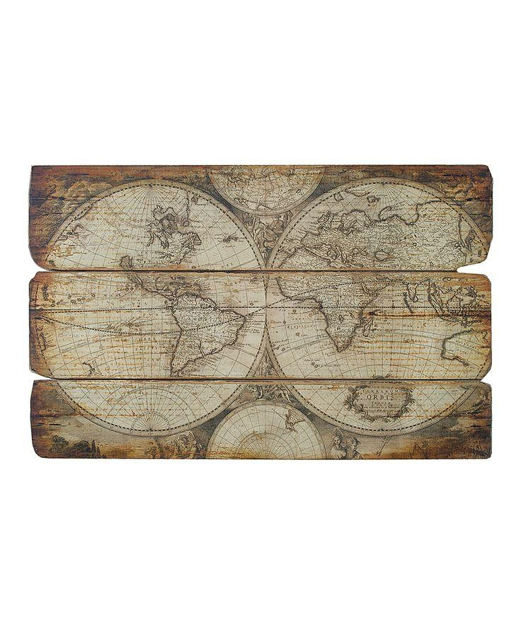 Wall Art Decor: Excited Old World Map Wall Art Canvas Prints Within Old World Map Wall Art (Image 14 of 20)