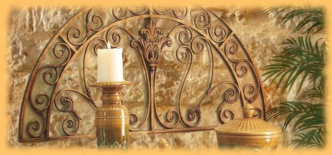 Wall Art Decor: Tuscan Decorating Italian Metal Wall Art Panels Throughout Italian Silver Wall Art (Image 19 of 20)