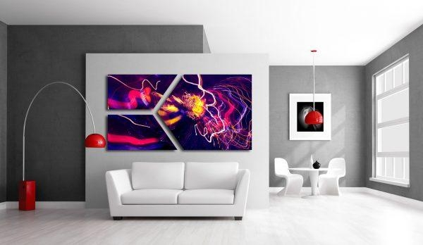 Wall Art Design Ideas : Abstract Art Wall Murals – Astonishing Within Abstract Art Wall Murals (Image 18 of 20)