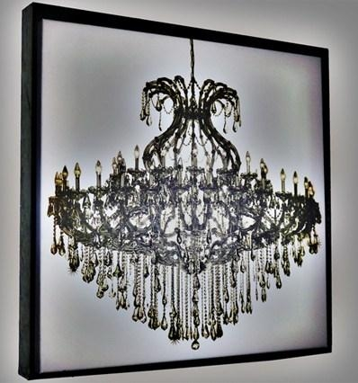 Wall Art Design Ideas: Amazing Metal Chandelier Wall Art 52 With Throughout Metal Chandelier Wall Art (View 11 of 20)