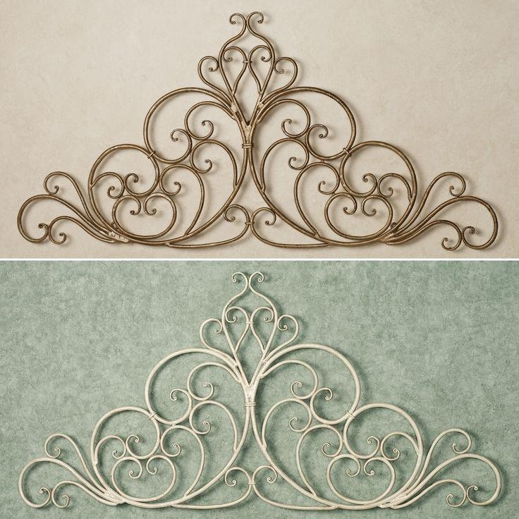 Wall Art Design Ideas: Awesome Iron Scroll Wall Art 70 In Sea Fan Inside Iron Scroll Wall Art (Image 12 of 20)