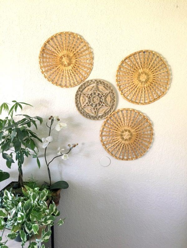 Wall Art Design Ideas: Epic Wicker Rattan Wall Art 75 For Your Intended For Wicker Rattan Wall Art (Image 8 of 20)