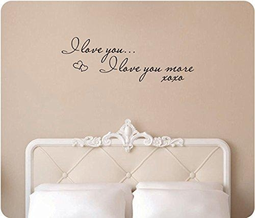 Wall Art Design Ideas: Fancy I Love You More Wall Art 55 On Stick Inside I Love You More Wall Art (Image 18 of 20)