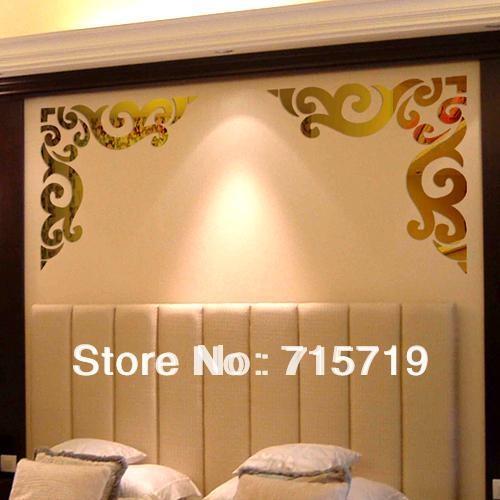 Wall Art Design Ideas : Gold Wall Art Stickers – Inspirational Regarding Gold Wall Art Stickers (Image 17 of 20)