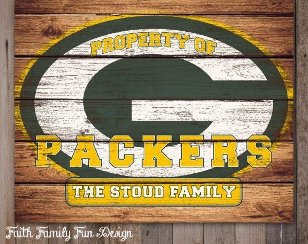 Wall Art Design Ideas : Green Bay Packers Wall Art – Amusing Green In Green Bay Packers Wall Art (View 10 of 20)