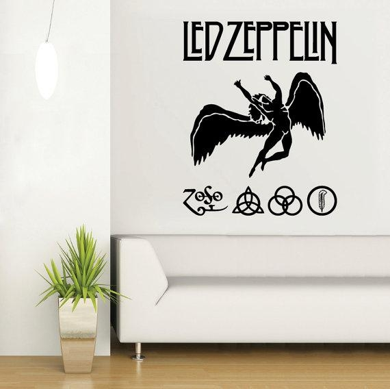 Featured Image of Led Zeppelin Wall Art