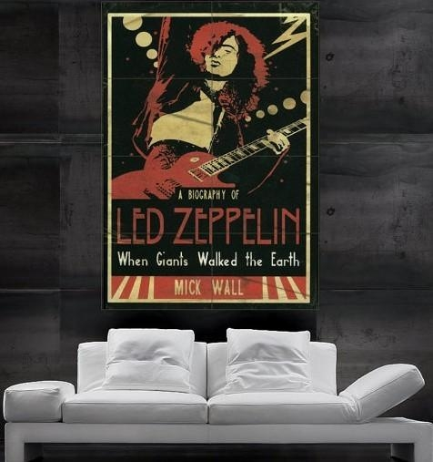 Wall Art Design Ideas : Led Zeppelin Wall Art – Fancy Led Zeppelin With Regard To Led Zeppelin Wall Art (Image 19 of 20)