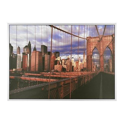 Wall Art Design Ideas: Luxury Ikea Brooklyn Bridge Wall Art 42 In For Ikea Large Wall Art (View 17 of 20)