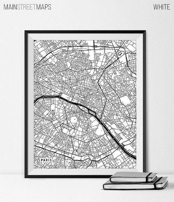 Wall Art Design Ideas : Map Of Paris Wall Art – Awesome Map Of For Map Of Paris Wall Art (Image 19 of 20)